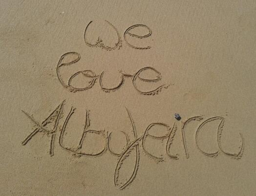 We love Albufeira
