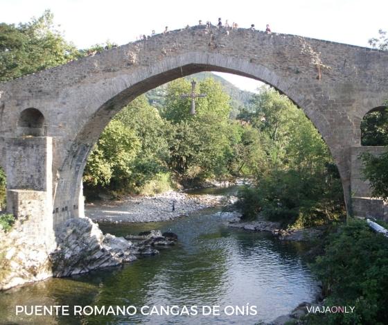 Puente Romano Cangas de Onís, Asturias